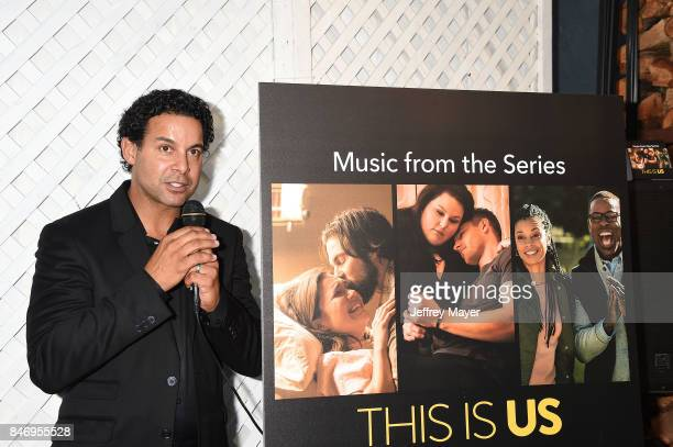 Actor John Huertas attends launch party for UMe's 'This Is Us ' at Clutch on September 13 2017 in Venice California