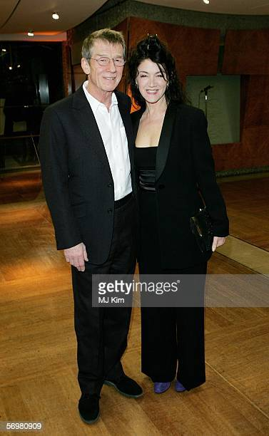 Actor John Hurt and Ann Rees Meyers attend the opening gala screening of 'The Proposition' as part of The London Australian Film Festival the annual...
