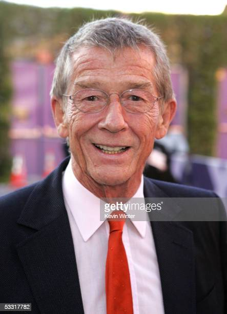 """Actor John Hurt arrives at the premiere of """"Skeleton Key"""" at Universal Studios Cinema at Universal CityWalk on August 2, 2005 in Universal City,..."""
