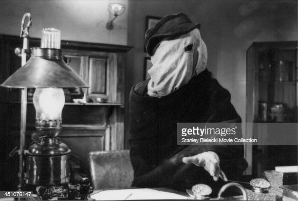 Actor John Hurt in a scene from the film 'The Elephant Man' 1980