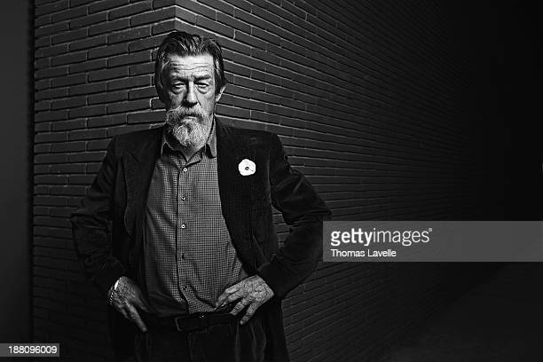 Actor John Hurt is photographed for Self Assignment during the 8th Rome Film Festival on November 9, 2013 in Rome, Italy.