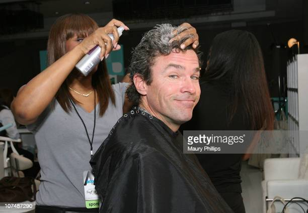 Actor John J York with CVS at the Access Hollywood Stuff You Must Lounge Presented by On 3 Productions at Sofitel Hotel on January 12 2008 in Beverly...