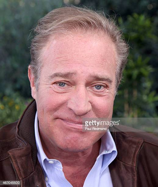 Actor John James photographed on the set of 'Dynasty' Reunion on 'Home Family' at Universal Studios Backlot on January 23 2015 in Universal City...