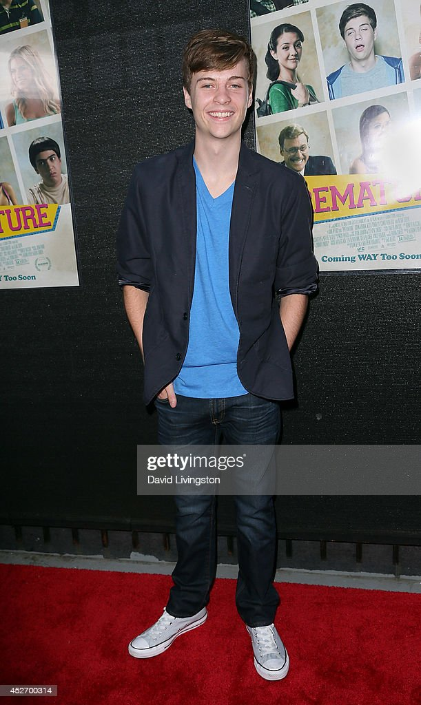 Actor John Karna attends the Los Angeles opening night screening of IFC Midnight's 'Premature' at Arena Cinema Hollywood on July 25, 2014 in Hollywood, California.