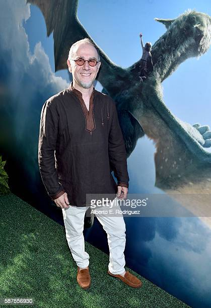 Actor John Kassir arrives at the world premiere of Disney's 'PETE'S DRAGON' at the El Capitan Theater in Hollywood on August 8 2016 The new film...