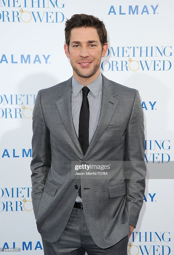 Actor John Krasinski arrives at the premiere of Warner Bros. 'Something Borrowed' held at Grauman's Chinese Theatre on May 3, 2011 in Hollywood, California.