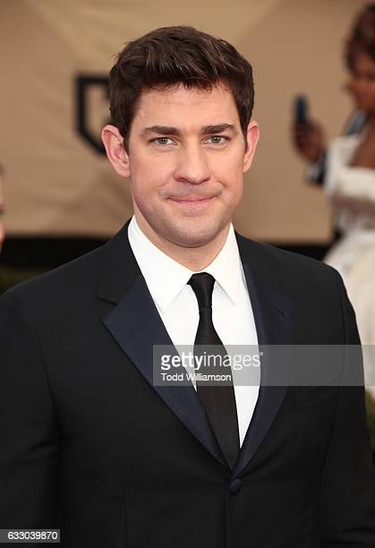 Actor John Krasinski attends the 23rd Annual Screen Actors Guild Awards at The Shrine Expo Hall on January 29 2017 in Los Angeles California