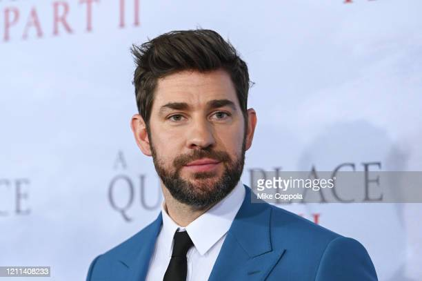 Actor John Krasinski attends the A Quiet Place Part II World Premiere at Rose Theater Jazz at Lincoln Center on March 08 2020 in New York City