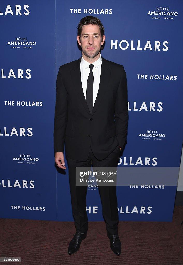 Actor John Krasinski attends 'The Hollars' New York Screening at Cinepolis Chelsea on August 18, 2016 in New York City.