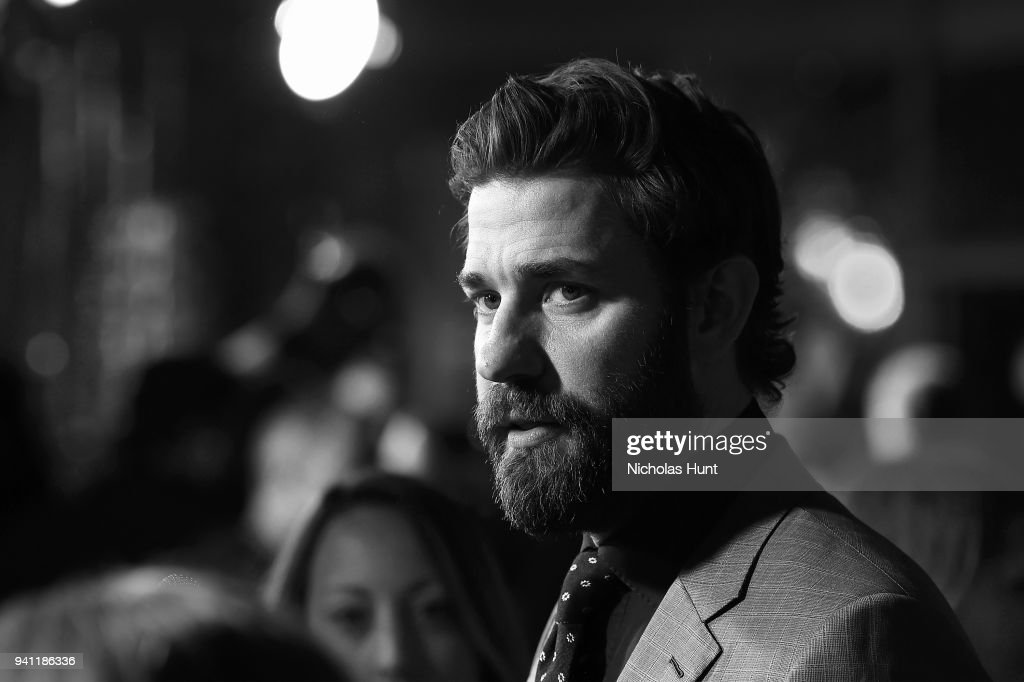 Actor John Krasinski attends the Paramount Pictures New York Premiere of 'A Quiet Place' at AMC Lincoln Square theater onApril 2, 2018 in New York, New York.