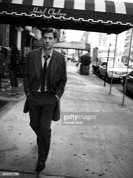 Actor John Krasinski is photographed for Mean Magazine on April 26 2007 in Los Angeles California