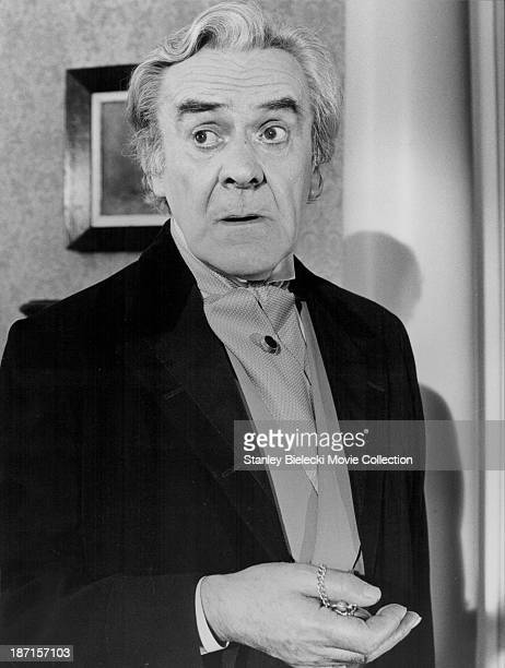 Actor John Le Mesurier in a scene from the film 'The Adventures of Sherlock Holmes' Smarter Brother' 1975