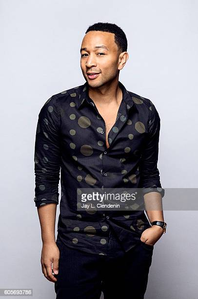 Actor John Legend from the film 'LA LA LAnd' poses for a portraits at the Toronto International Film Festival for Los Angeles Times on September 12...
