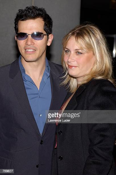 Actor John Leguizamo and his wife Justine Maurer attend the after party for A Work in Progress An Evening with David O Russell at the Museum of...