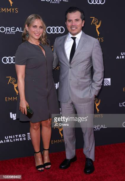 Actor John Leguizamo and Justine Maurer attend the Television Academy Honors Emmy Nominated Performers at Wallis Annenberg Center for the Performing...