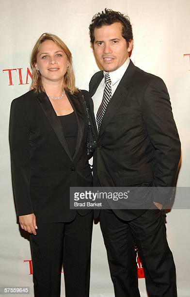 Actor John Leguizamo and wife Justine attend the celebration for Time Magazine's 100 Most Infuential People issue at Jazz at Lincoln Center May 8...