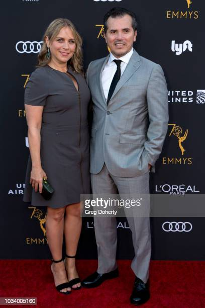 Actor John Leguizamo and wife Justine Maurer attend the Television Academy Honors Emmy Nominated Performers Reception at Wallis Annenberg Center for...