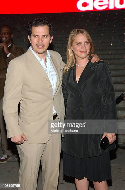 Actor John Leguizamo and wife Justine Maurer attends the 7th Annual Tribeca Film Festival Vanity Fair Party at the State Supreme Courthouse on April...