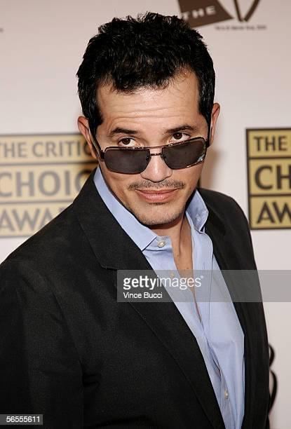 Actor John Leguizamo arrives at the 11th Annual Critics' Choice Awards held at the Santa Monica Civic Auditorium on January 9, 2006 in Santa Monica,...