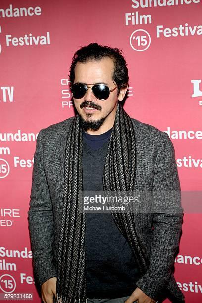 "Actor John Leguizamo attends the ""Experimenter"" premiere at the 2015 Sundance Film Festival"