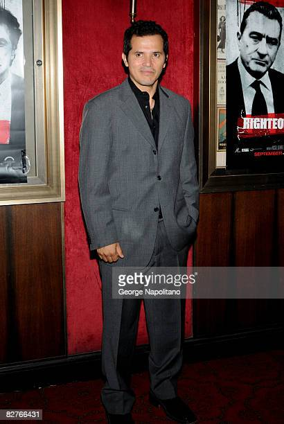 Actor John Leguizamo attends the New York premiere of 'Righteous Kill' at the Ziegfeld Theater on September 10 2008 in New York City