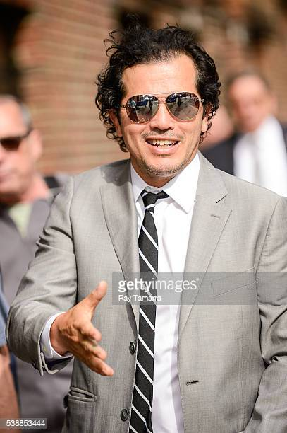 Actor John Leguizamo enters The Late Show With Stephen Colbert taping at the Ed Sullivan Theater on June 08 2016 in New York City