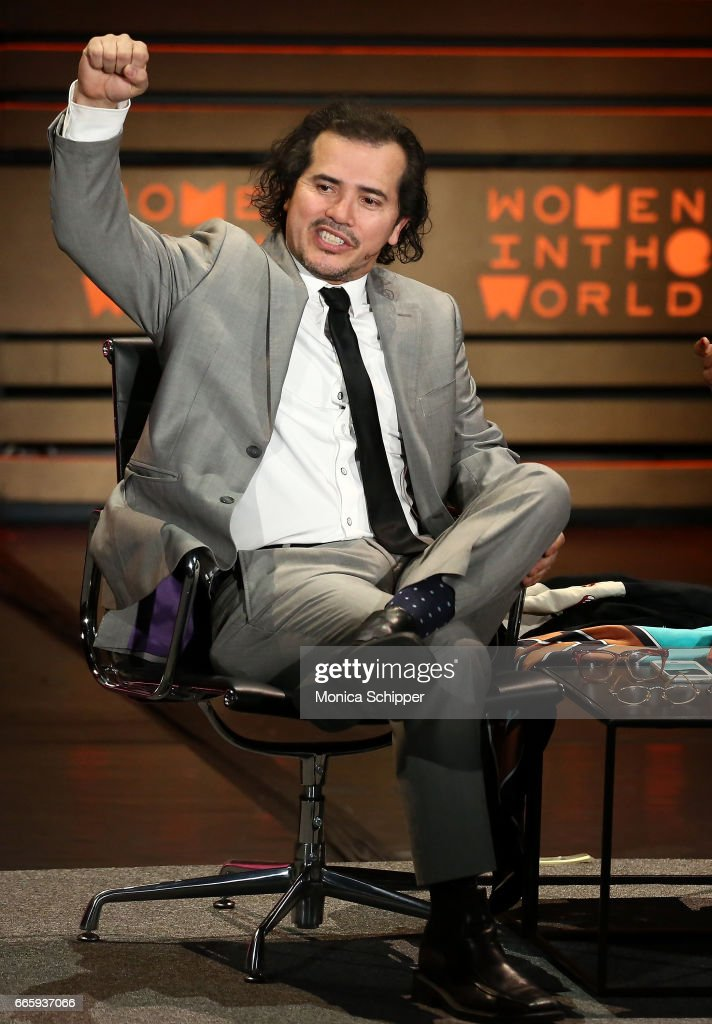 Actor John Leguizamo speaks on stage at the 8th Annual Women In The World Summit at Lincoln Center for the Performing Arts on April 7, 2017 in New York City.