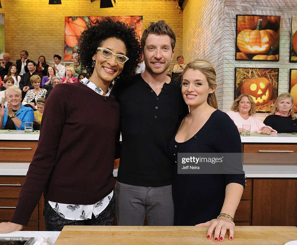 THE CHEW - Actor John Lithgow and Country music singer Brett Eldredge appear today, October 28, 2013 on ABC's 'The Chew.' 'The Chew' airs MONDAY - FRIDAY (1-2pm, ET) on the ABC Television Network. OZ