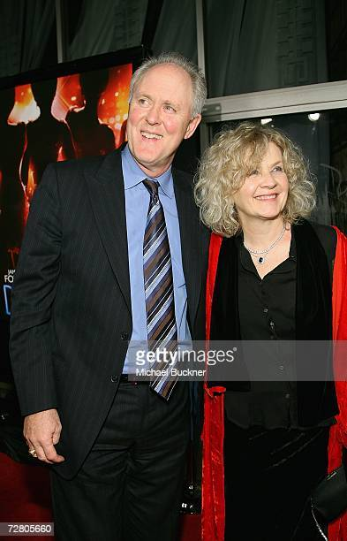 Actor John Lithgow and wife Mary Yeager arrive at the premiere of Paramount Pictures' Dreamgirls at the Wilshire Theatre on December 11 2006 in Los...