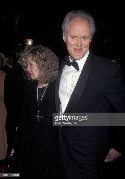 Actor John Lithgow and wife Mary Yeager attending 11th Annual American Comedy Awards on February 9 1997 at the Shrine Auditorium in Los Angeles...