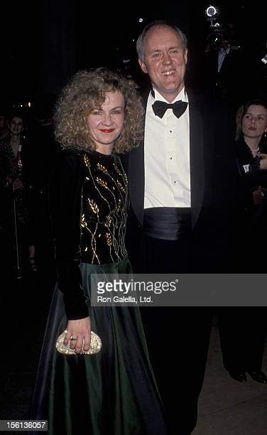 Actor John Lithgow and wife Mary Yeager attending 50th Annual Golden Globe Awards on January 23 1993 at the Beverly Hilton Hotel in Beverly Hills...
