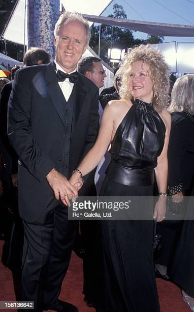 Actor John Lithgow and wife Mary Yeager attending 51st Annual Primetime Emmy Awards on September 12 1999 at the Shrine Auditorium in Los Angeles...