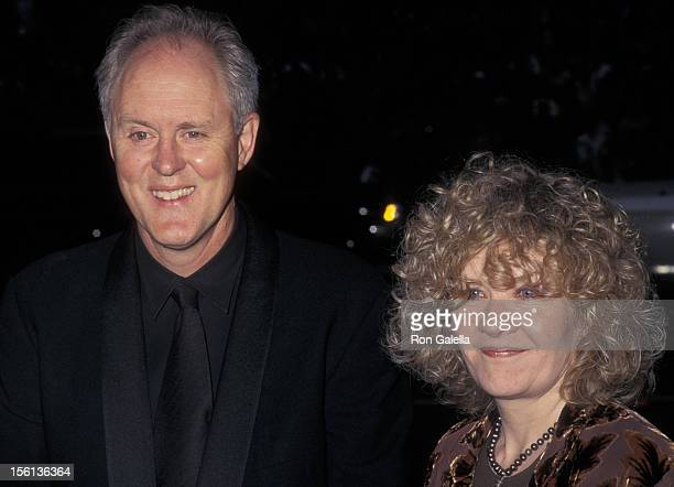 Actor John Lithgow and wife Mary Yeager attending 52nd Annual Tony Awards on June 7 1998 at Radio City Music Hall in New York City New York
