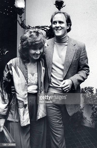 Actor John Lithgow and wife Mary Yeager attending 'Los Angeles Film Critics Awards' on January 24 1983 at Jimmy's Restaurant in Beverly Hills...