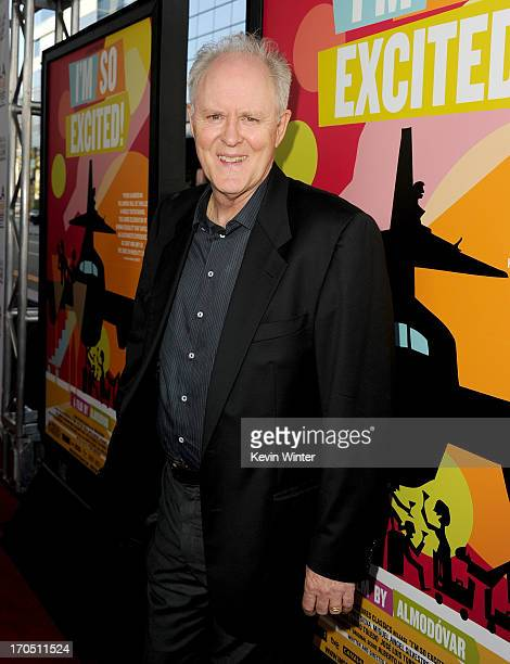 """Actor John Lithgow arrives at the premiere of Sony Pictures Classics """"I'm So Excited!"""" during the 2013 Los Angeles Film Festival at Regal Cinemas..."""