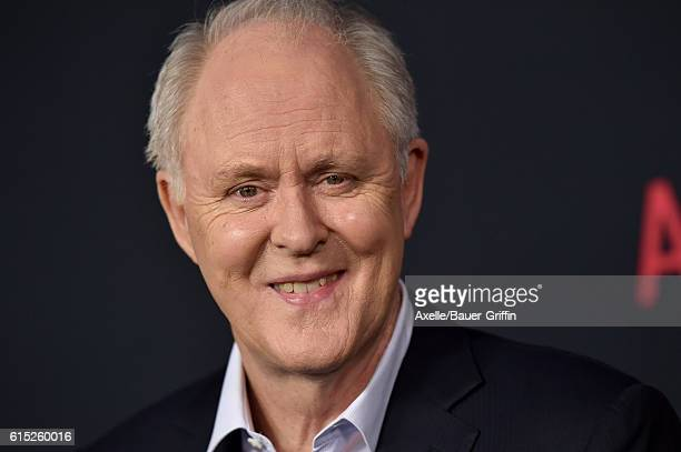 Actor John Lithgow arrives at the premiere of Warner Bros Pictures' 'The Accountant' at TCL Chinese Theatre on October 10 2016 in Hollywood California