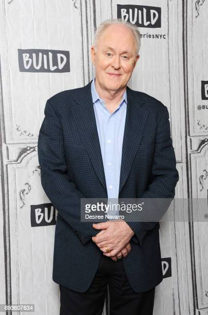 Actor John Lithgow attends Build to discuss 'Beatriz At Dinner' at Build Studio on June 7 2017 in New York City