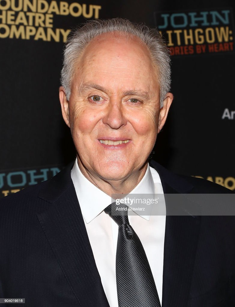Actor John Lithgow attends opening night of 'John Lithgow: Stories By Heart' at American Airlines Theatre on January 11, 2018 in New York City.