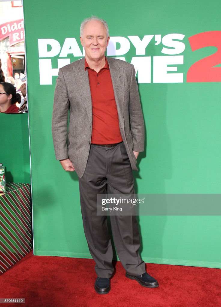 Actor John Lithgow attends the premiere of Paramount Pictures' 'Daddy's Home 2' at Regency Village Theatre on November 5, 2017 in Westwood, California.