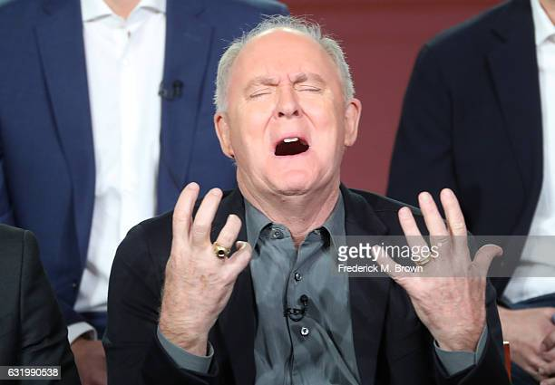 Actor John Lithgow of the television show 'Trial and Error' speaks onstage during the NBCUniversal portion of the 2017 Winter Television Critics...