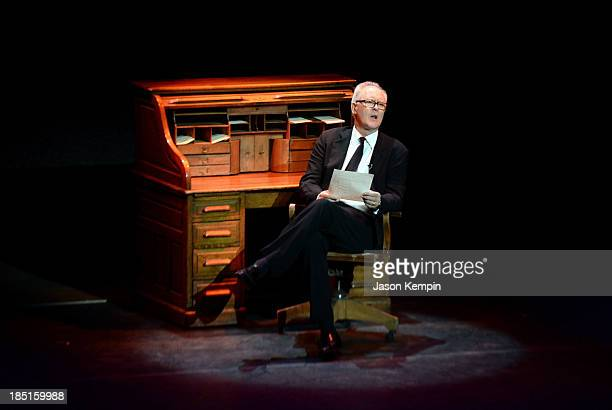 Actor John Lithgow performs onstage during the Wallis Annenberg Center for the Performing Arts Inaugural Gala presented by Salvatore Ferragamo at the...