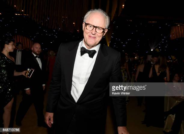 Actor John Lithgow winner of Outstanding Supporting Actor in a Drama Series for 'The Crown' attends the 69th Annual Primetime Emmy Awards Governors...