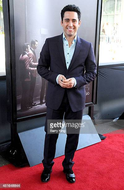 Actor John Lloyd Young attends the 2014 Los Angeles Film Festival closing night premiere of 'Jersey Boys' at Premiere House on June 19 2014 in Los...