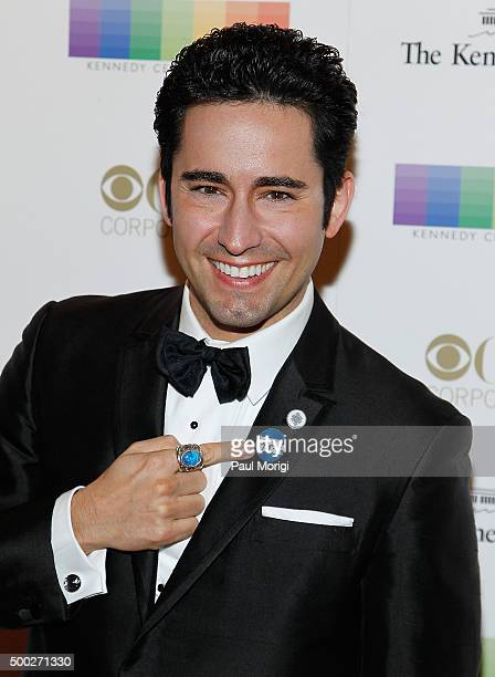 Actor John Lloyd Young attends the 38th Annual Kennedy Center Honors Gala at John F Kennedy Center for the Performing Arts on December 6 2015 in...