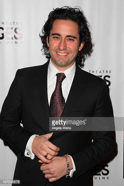 Actor John Lloyd Young attends the opening night of 'West Side Story' at the Pantages Theatre on December 1 2010 in Hollywood California