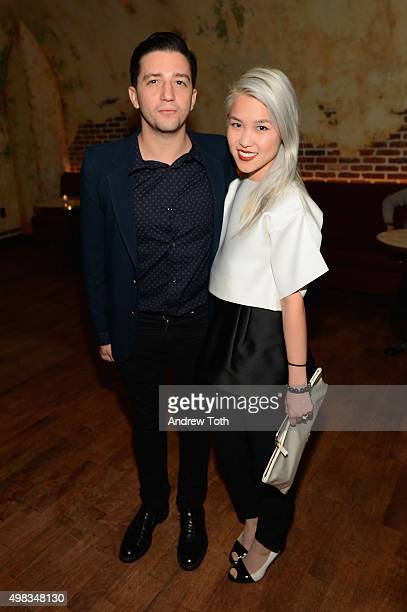 Actor John Magaro and a guest attend Killer Films' 20th Anniversary Celebration presented by Refinery29 in partnership with Rag Bone at The Django at...