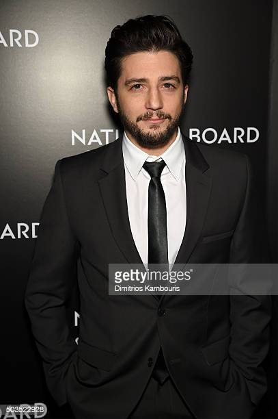 Actor John Magaro attends 2015 National Board of Review Gala at Cipriani 42nd Street on January 5 2016 in New York City