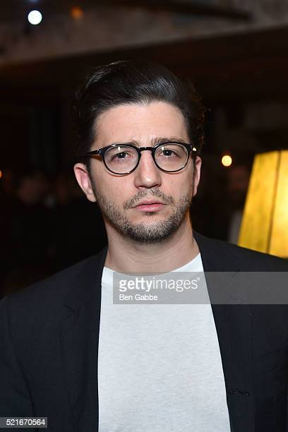 Actor John Magaro attends At Large Magazine celebrates Cover Star Jack Huston at Elyx House on April 16 2016 in New York City
