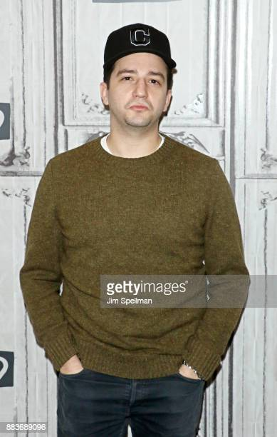 Actor John Magaro attends Build to discuss Illyria at Build Studio on December 1 2017 in New York City