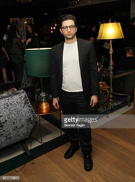 Actor John Magaro attends the At Large Magazine dinner in Honor of cover star Jack Houston at Elyx House on April 16 2016 in New York City